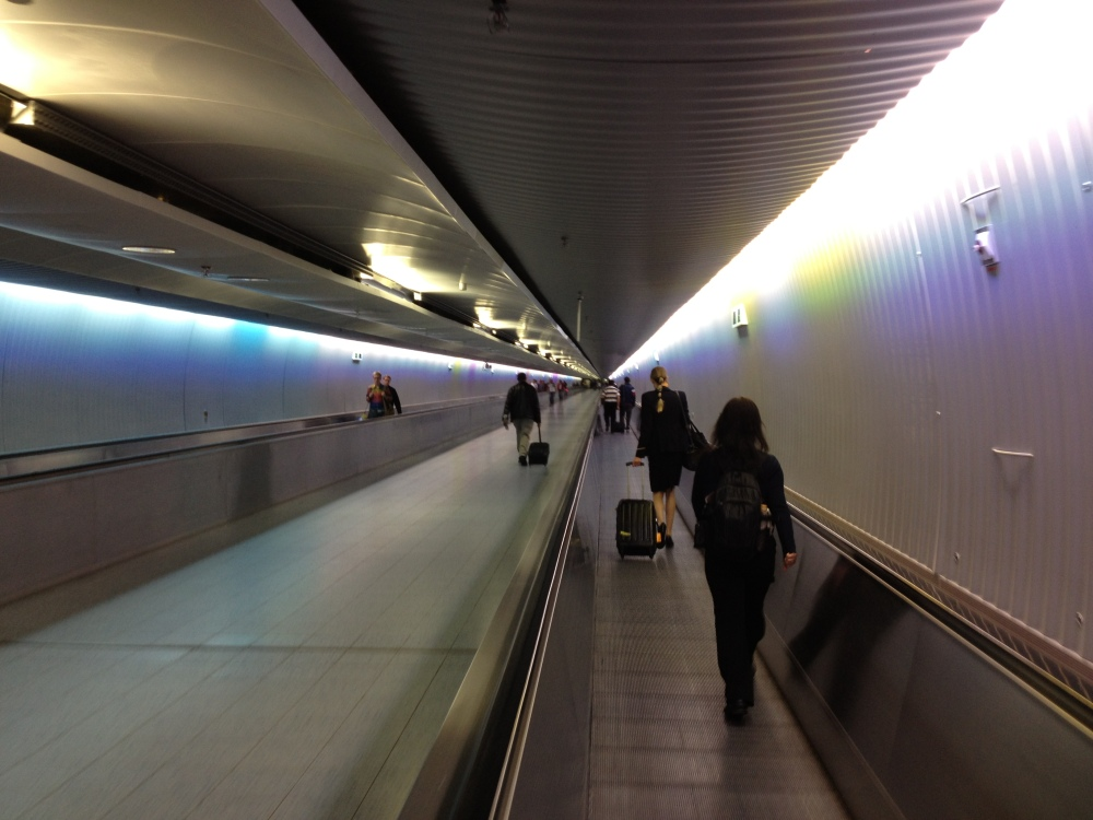 Frankfurt International Airport...AKA Narnia.