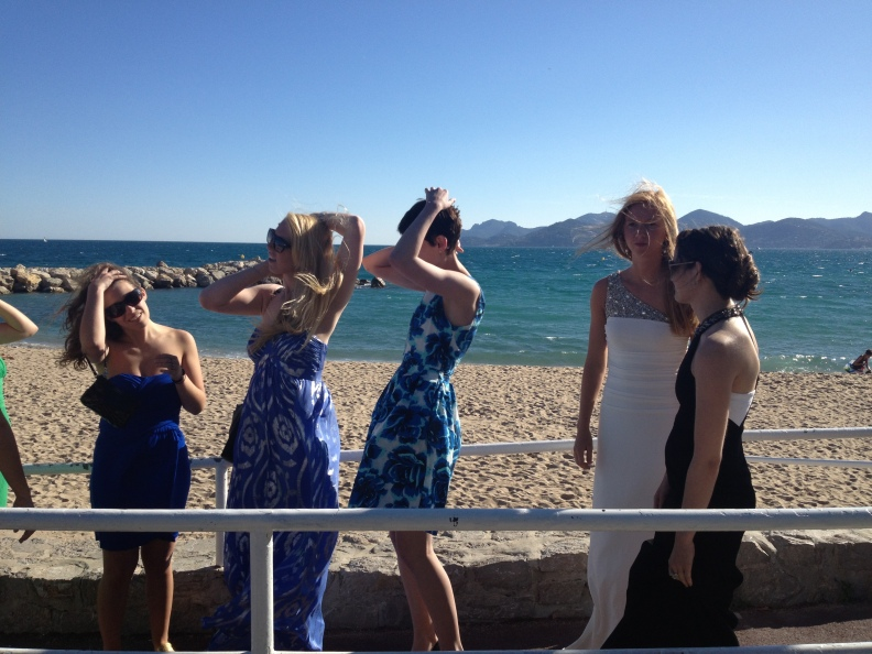 """""""Put on your best dress baby, and darling fix your hair up right...""""  The girls in our group all looked stunning for our CMF photo shoot on the beach."""