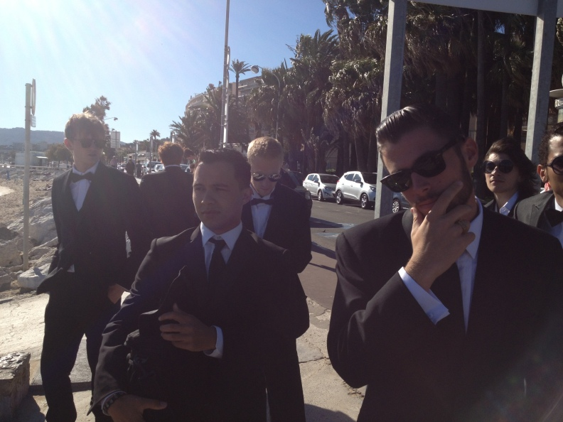 The guys looked pretty fly as well.