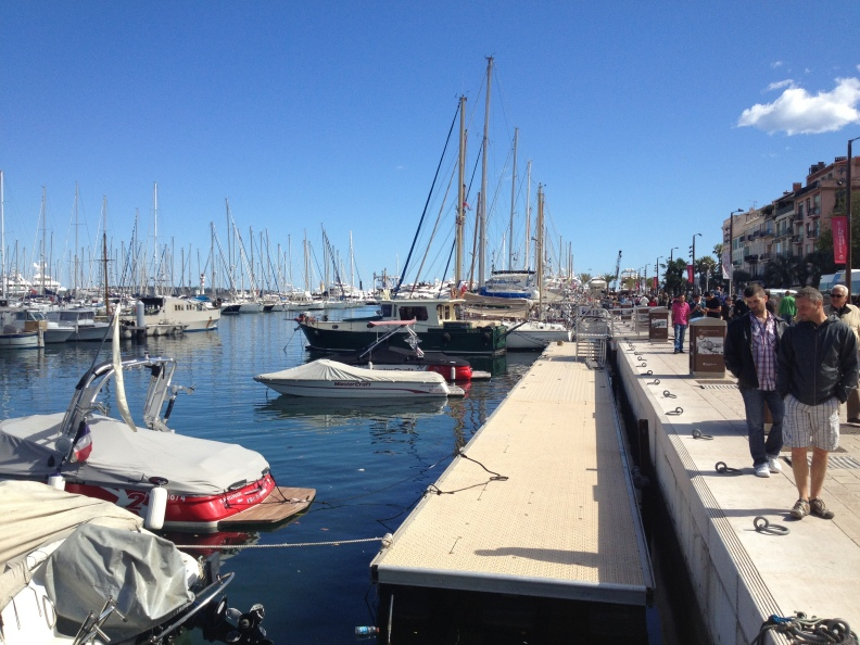 """Took a stroll along the marina today.  Just have to remember that """"it's not a boat...it's a yacht!"""""""