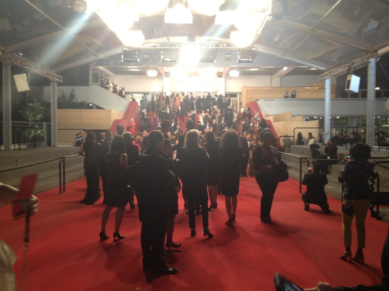 The last red carpet for the closing film, Zulu.